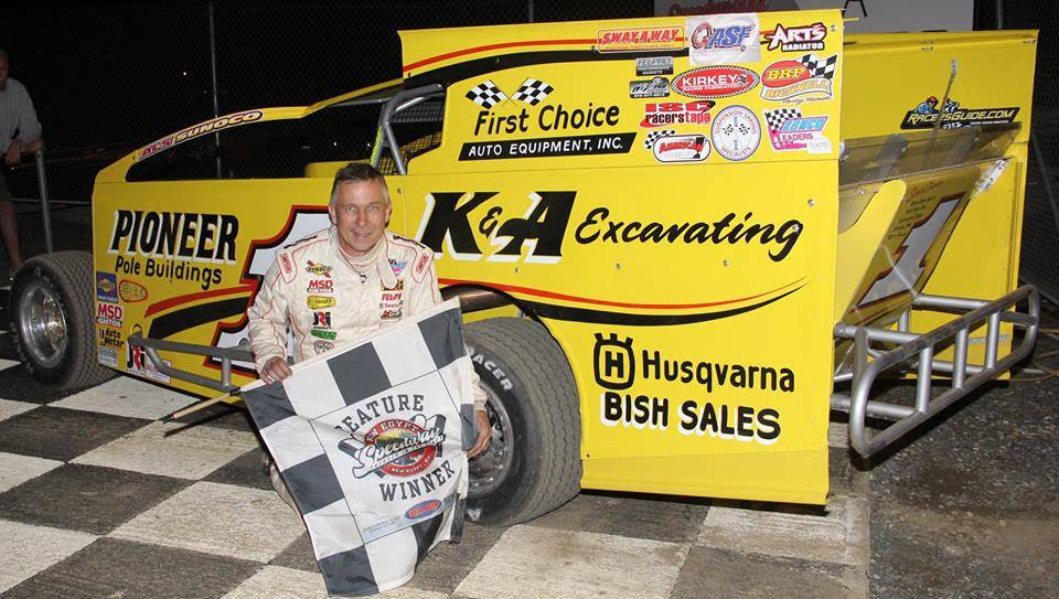 Billy Pauch Sr. takes 1st at New Egypt Speedway
