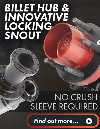 Sway-A-Way Billet Hub & Locking Snouts