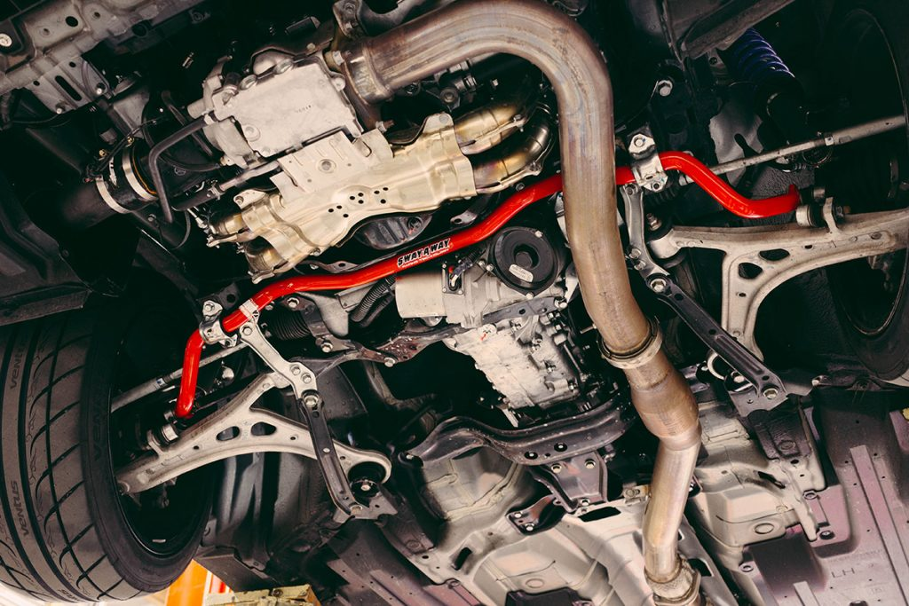 2015 Subaru WRX Front Sway Bar Installed