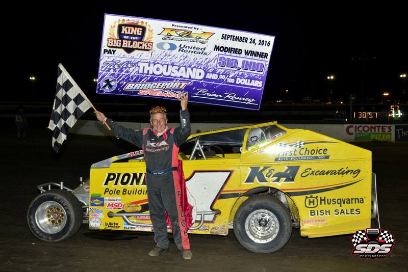 Billy Pauch Sr. Celebrates Victory at 2016 King of the Big Blocks