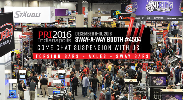 Sway-A-Way at PRI Show 2016